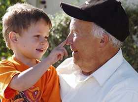 порядок общения дедушки с внуком